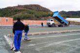 Entran en su última fase las obras de adecuación del aparcamiento, jardines y perímetro del poblado del yacimiento argárico de 'La Bastida'