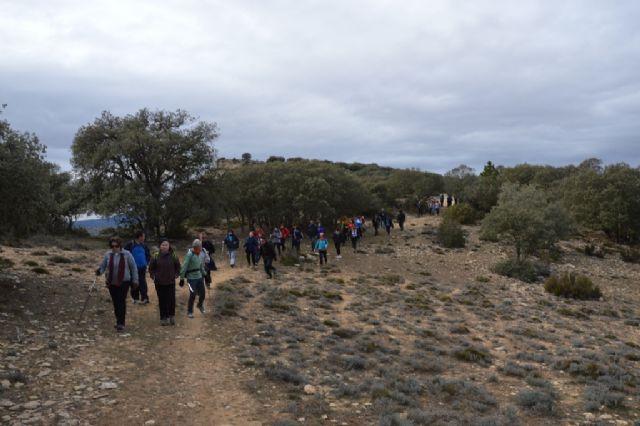 La Concejalía de Deportes celebró el pasado domingo una ruta de senderismo por Moratalla - 3, Foto 3
