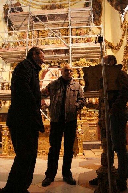 Comienzan las obras de la restauración del Retablo Mayor del Santuario de Santa Eulalia - 3, Foto 3