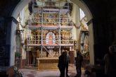 Comienzan las obras de la restauración del Retablo Mayor del Santuario de Santa Eulalia