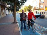 UPyD La Unión pide estudiar 'la viabilidad de la creación de más kilómetros de carril bici en La Unión y pedanías'