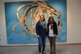 """El Espacio de Artes de la Casa de la Cultura acoge la exposición """"Enigma y pliegue"""""""
