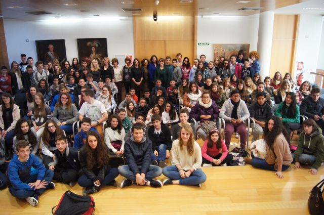 """A total of 53 students from IES """"Prado Mayor"""" participate in an exchange with a French bilingual school"""
