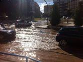 Reparadas las tuberías que inundaron la Alameda y la plaza de España