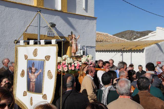 Finalizan las Fiestas en Honor al Niño de Nápoles con la tradicional Misa y Romería - 1, Foto 1