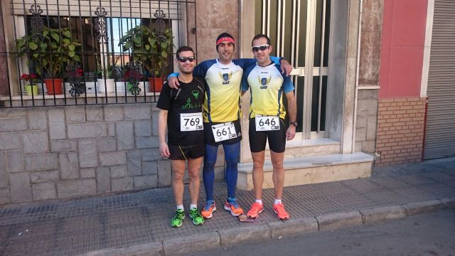Athletes Athletic Club Totana participated in several races this weekend