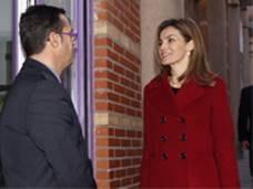 Su Majestad la Reina se reúne con FEDER para conocer las prioridades del colectivo de enfermedades poco frecuentes en 2015