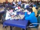 Doce escolares de Totana participaron en la 1ª jornada regional de ajedrez de Deporte Escolar