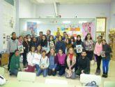 Jóvenes de los Centros Interculturales mantuvieron un encuentro con los autores de Pulsaciones