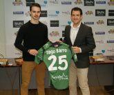Iago Barro con su dorsal '25' es oficialmente portero de ElPozo Murcia FS