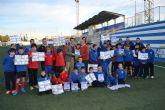 La Escuela de Fútbol Base Pinatar edita un álbum de cromos con todos sus jugadores y cuerpo técnico