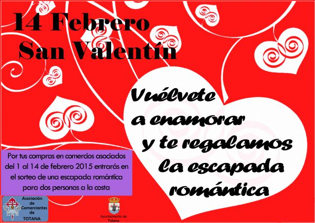 Presentation by drawing romantic getaway purchases 1 to February 14 at Merchant Partners