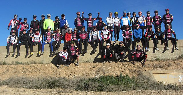 """First year path Sports Association """"Rock Nine"""" by the Valley Guadalentín"""