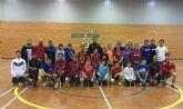 El seleccionador nacional de bádminton de menores participa en una jornada de tecnificación en Las Torres de Cotillas