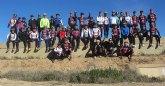 Primera ruta del año de la Asociación Deportiva 'Peña Las Nueve' por el Valle del Guadalentín