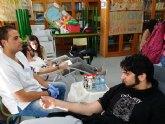 Éxito de la campaña de doniación de sangre en el IES Ben Arabí