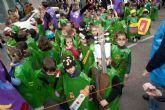 Los escolares estrenan su Pasacalles de Carnaval