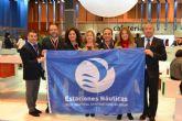 La Estación Náutica Mar Menor recibió ayer su 'bandera' acreditativa en Fitur