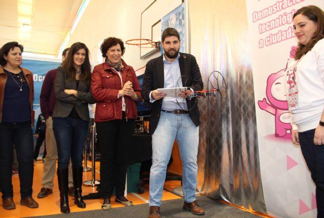 Inaugurada la XV edición de la Feria de Nuevas Tecnologías SICARM en Puerto Lumbreras - 1, Foto 1