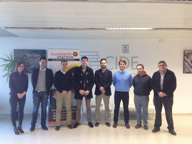 Los Jóvenes Empresarios del Guadalentín se reúnen en Alhama para acordar nuevas medidas para el desarrollo empresarial - 1, Foto 1