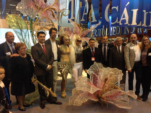 El Carnaval de Santiago de la Ribera empezó este año en Fitur - 1, Foto 1