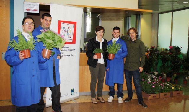 Mercadillo floral de Astrapace en la Conseje ría de Sanidad y Política Social - 1, Foto 1