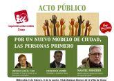 Manolo Monereo, dirigente federal de Izquierda Unida, abrirá la precampaña electoral de IU-Verdes en Cieza