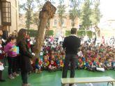 Los alumnos del colegio Cierva Peñafiel celebran el Día Escolar de la No Violencia y la Paz