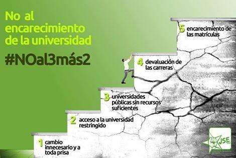 Juventudes Socialistas denuncia el nuevo ataque del PP a la Universidad Pública con la aprobación del 3+2 - 1, Foto 1