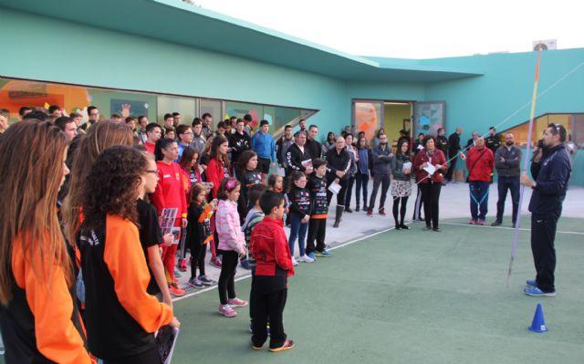 Puerto Lumbreras presenta su Calendario Deportivo 2015 con la campeona de España de 100 km ruta y el campeón de España de Jabalina 2011 - 1, Foto 1