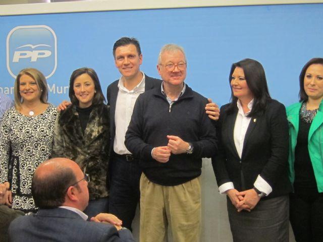 Valcárcel participó en en la presentación del candidato del PP a la alcaldía, Alfonso Cerón - 1, Foto 1