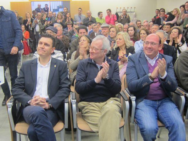 Valcárcel participó en en la presentación del candidato del PP a la alcaldía, Alfonso Cerón - 2, Foto 2