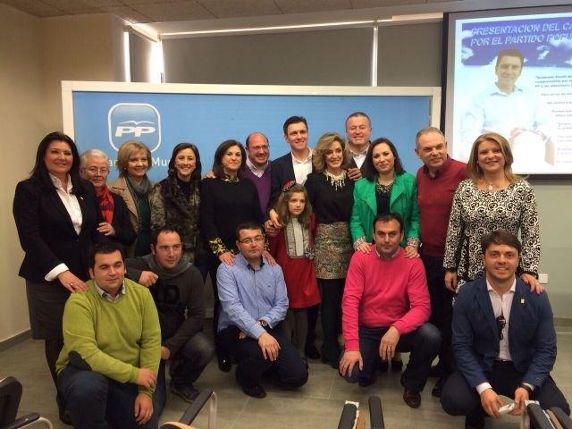 Valcárcel participó en en la presentación del candidato del PP a la alcaldía, Alfonso Cerón - 3, Foto 3