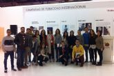 Los estudiantes de Turismo de la UCAM participan en FITUR
