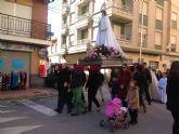 El municipio de Blanca celebra la procesión de la Candelaria