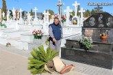 El enterrador de Totana hace un llamamiento a los propietarios de las fosas para que revisen las mismas tras el episodio de vientos