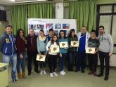 Los alumnos del IES Domingo Valdivieso muestran su rechazo al absentismo escolar