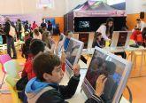 Más de 500 escolares han visitado la Feria de Nuevas Tecnologías SICARM en Puerto Lumbreras
