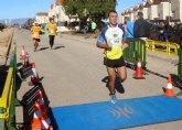 V�ctor Garc�a, del Club de Atletismo de Totana, particip� en la el III Trail de La Aljorra-Cartagena