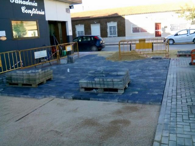 El Ayuntamiento de Torre-Pacheco peatonaliza parte de la calle Barbero Daniel Briones de Balsicas - 1, Foto 1