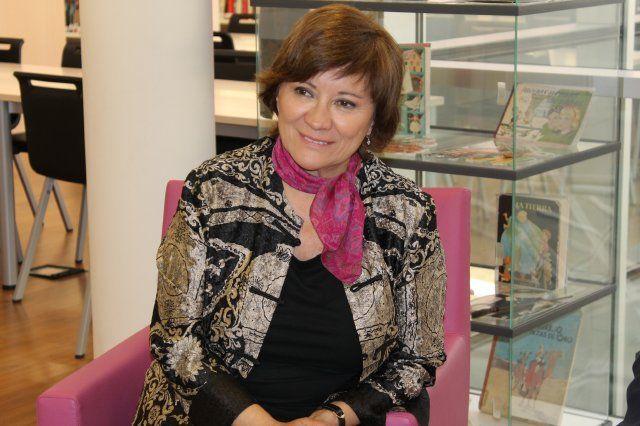 La escritora Nativel Preciado estará en Mazarrón para participar en una nueva charla del ciclo