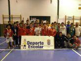 Finaliza la fase local de F�tbol Sala Infantil, Cadete y Juvenil masculino de Deporte Escolar