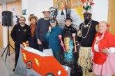 """La Musa, Don Carnal y la Pregonera del Carnaval�2015 acercan la fiesta a los usuarios del Centro de D�a """"Doña Letizia Ortiz"""" y el Centro Ocupacional """"Jos� Moy� Trilla"""""""