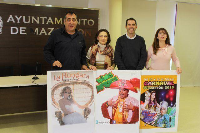 King África y la Húngara animarán el carnaval de Mazarrón, Foto 2