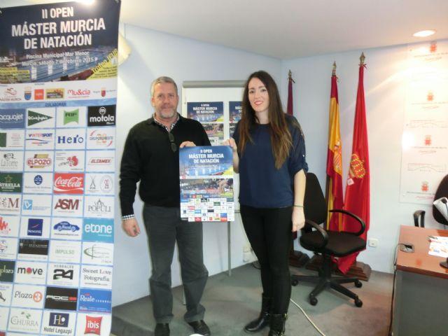 Cerca de 300 deportistas se darán cita el sábado en el II Open Máster Murcia de Natación, Foto 1