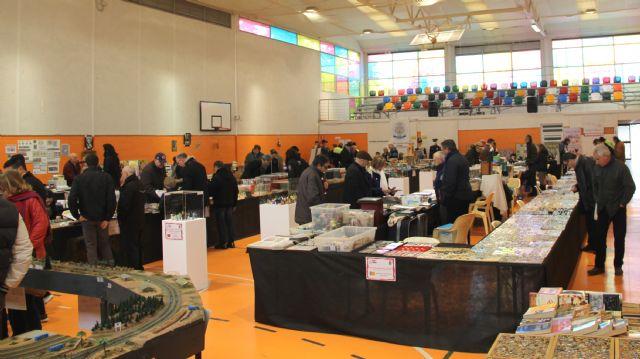 I Feria de Coleccionismo celebrada en Puerto Lumbreras con la muestra de más de 200 coleccionistas - 1, Foto 1