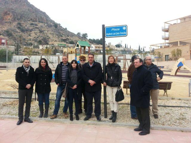 El ayuntamiento dedica una plaza al arquitecto Luis Carlos Torrecillas Melendreras - 1, Foto 1