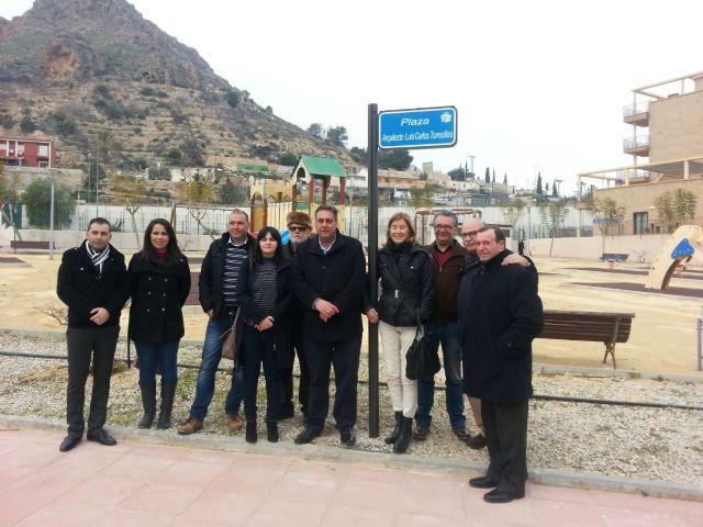 El ayuntamiento dedica una plaza al arquitecto Luis Carlos Torrecillas Melendreras - 3, Foto 3