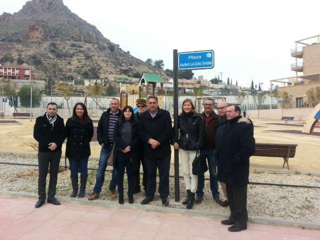 El ayuntamiento dedica una plaza al arquitecto Luis Carlos Torrecillas Melendreras - 4, Foto 4