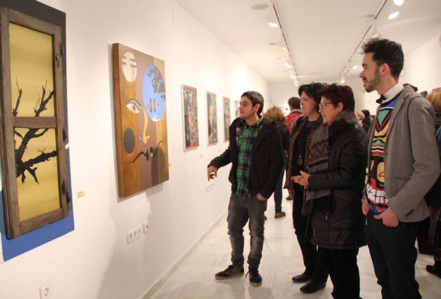 Los jóvenes artistas lumbrerenses Salva Piñero e Ismael Elvira inauguraron su exposición Libre albedrío en el Centro Cultural Casa de los Duendes - 3, Foto 3